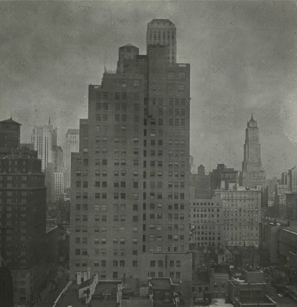 New York, 1938, scatto di Alberti