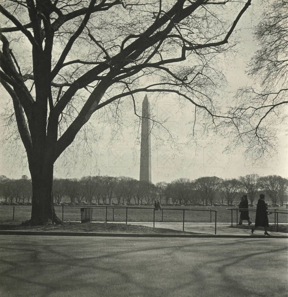 Washington, marzo 1938, scatto di Alberti